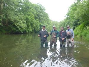 Grundkurs Fliegenfischen Juni 2016